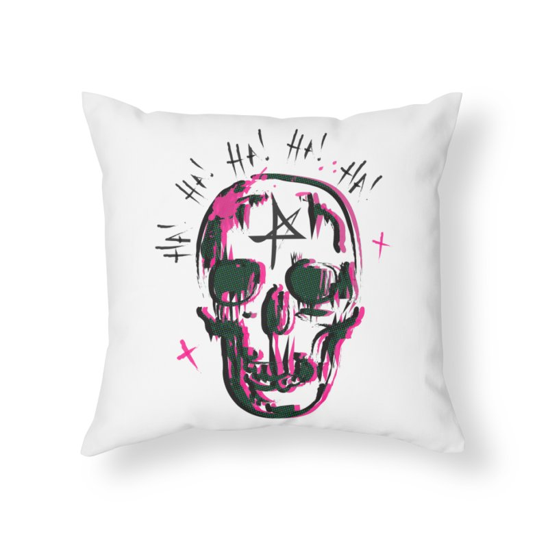 LOL Home Throw Pillow by Winterglaze's Artist Shop