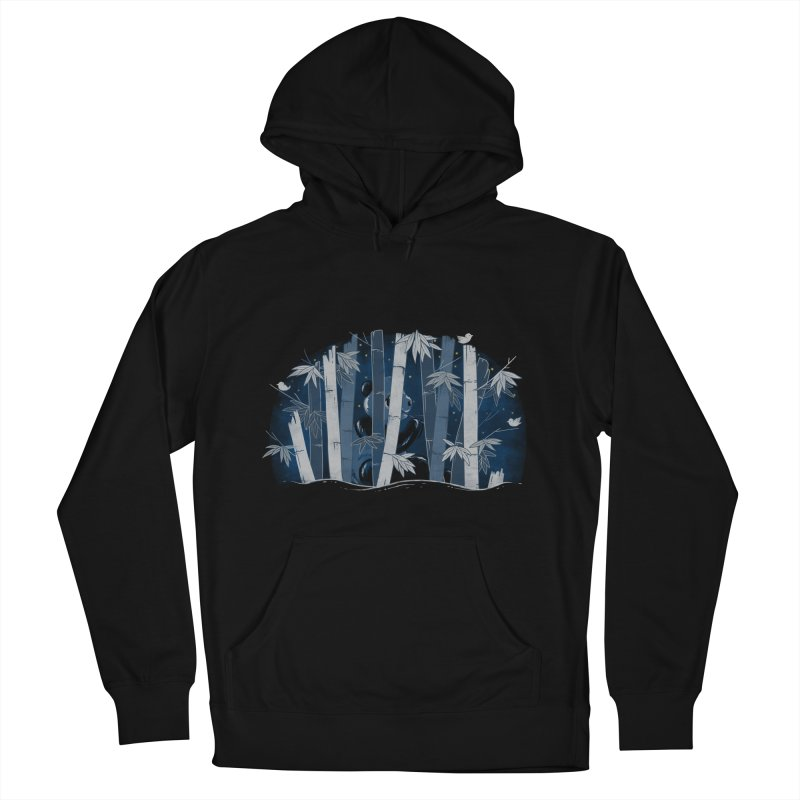 Midnight Snack Men's French Terry Pullover Hoody by Winterglaze's Artist Shop