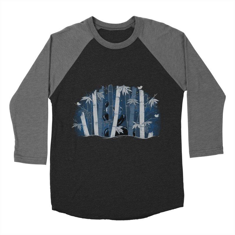 Midnight Snack Men's Baseball Triblend T-Shirt by Winterglaze's Artist Shop