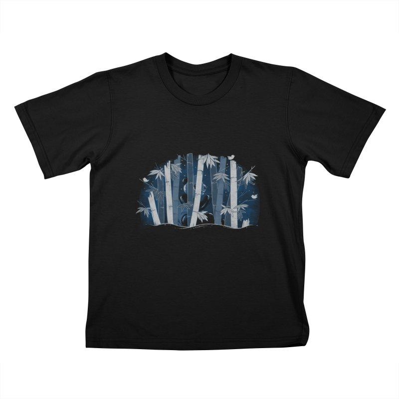 Midnight Snack Kids T-Shirt by Winterglaze's Artist Shop