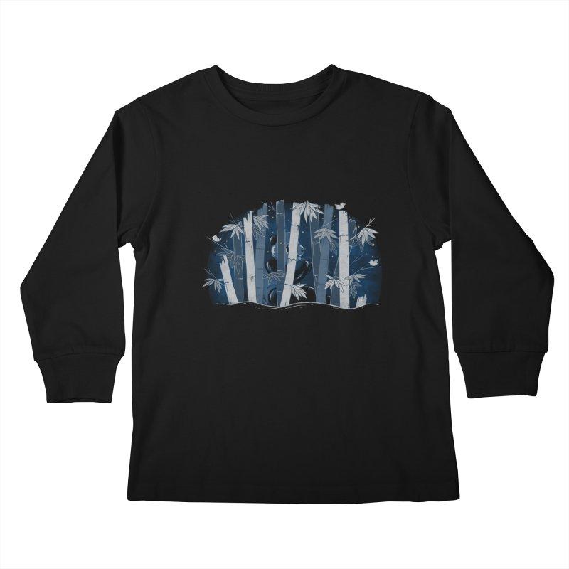 Midnight Snack Kids Longsleeve T-Shirt by Winterglaze's Artist Shop