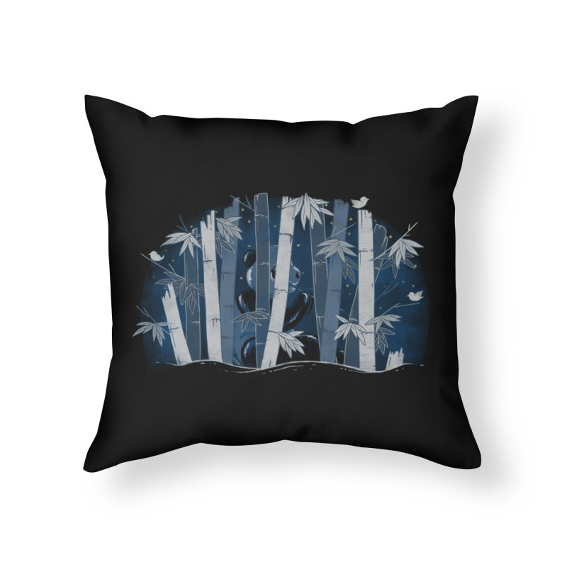 Midnight Snack Home Throw Pillow by Winterglaze's Artist Shop