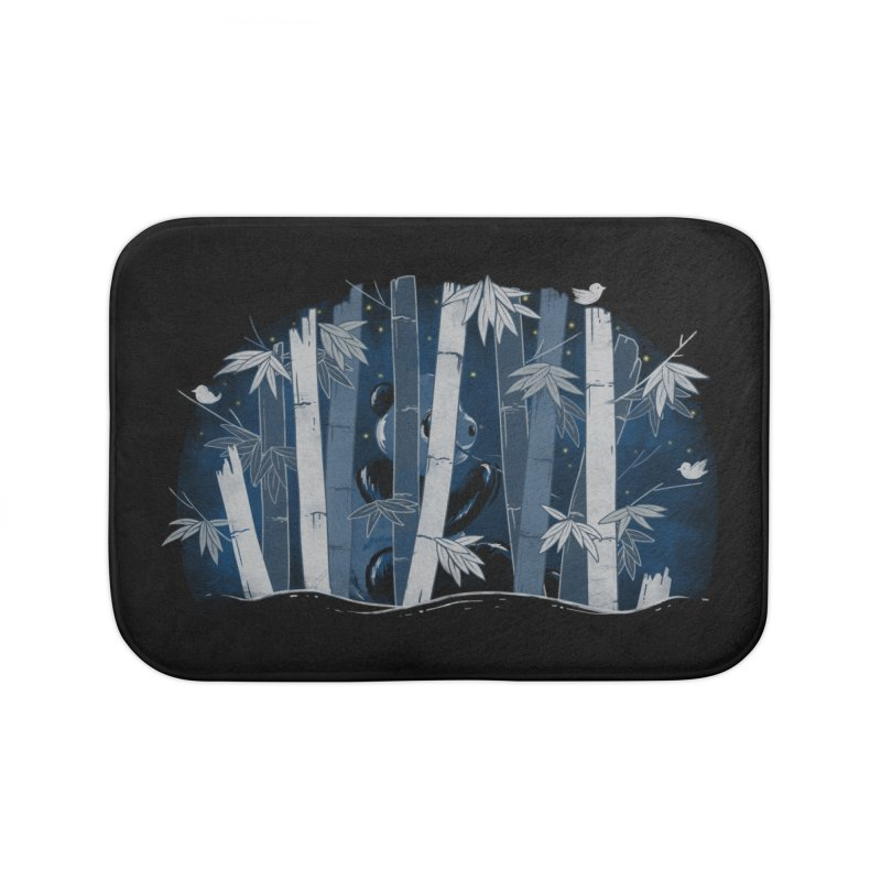 Midnight Snack Home Bath Mat by Winterglaze's Artist Shop