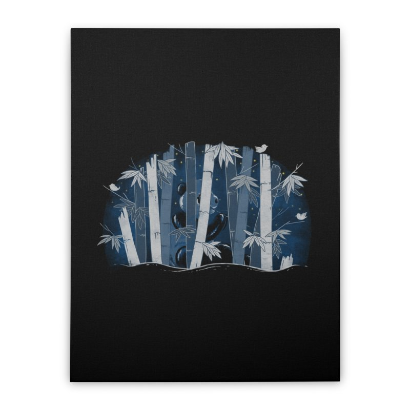 Midnight Snack Home Stretched Canvas by Winterglaze's Artist Shop