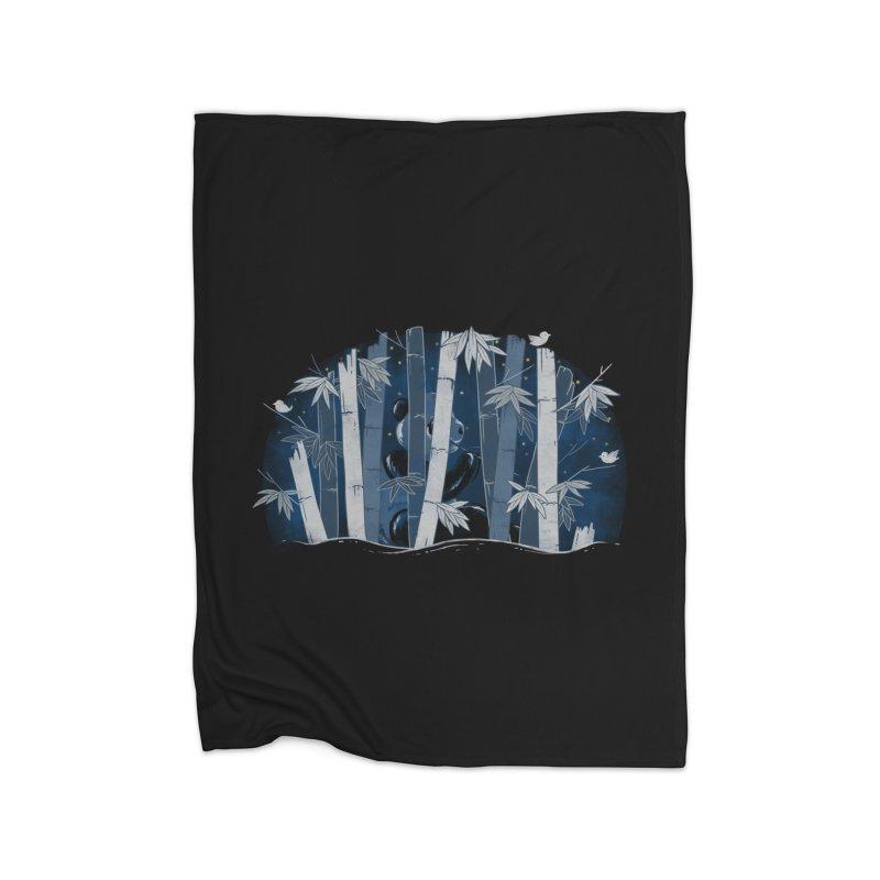 Midnight Snack Home Blanket by Winterglaze's Artist Shop