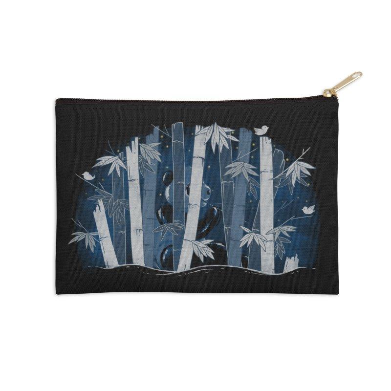 Midnight Snack Accessories Zip Pouch by Winterglaze's Artist Shop