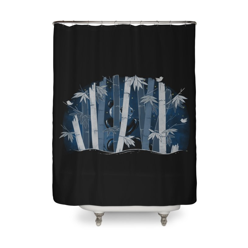 Midnight Snack Home Shower Curtain by Winterglaze's Artist Shop