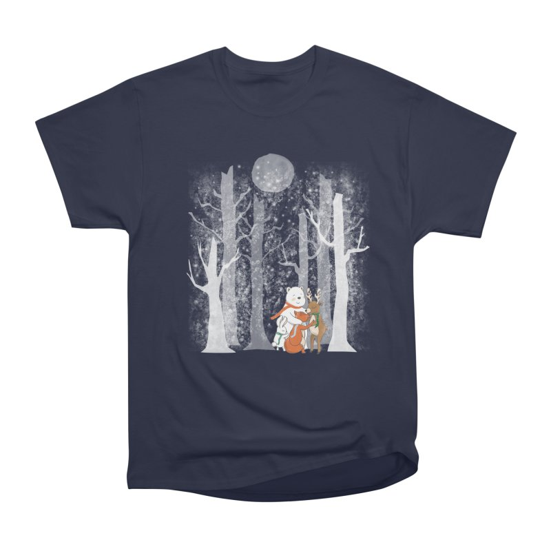 When it's cold outside Women's Classic Unisex T-Shirt by Winterglaze's Artist Shop