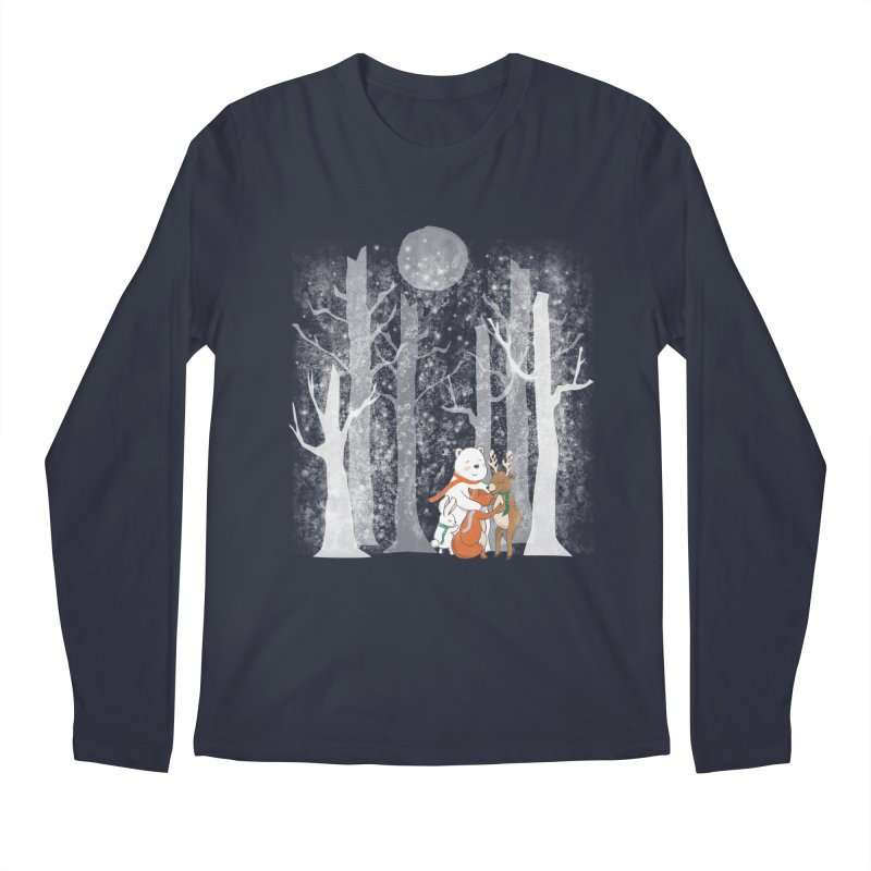 When it's cold outside Men's Longsleeve T-Shirt by Winterglaze's Artist Shop