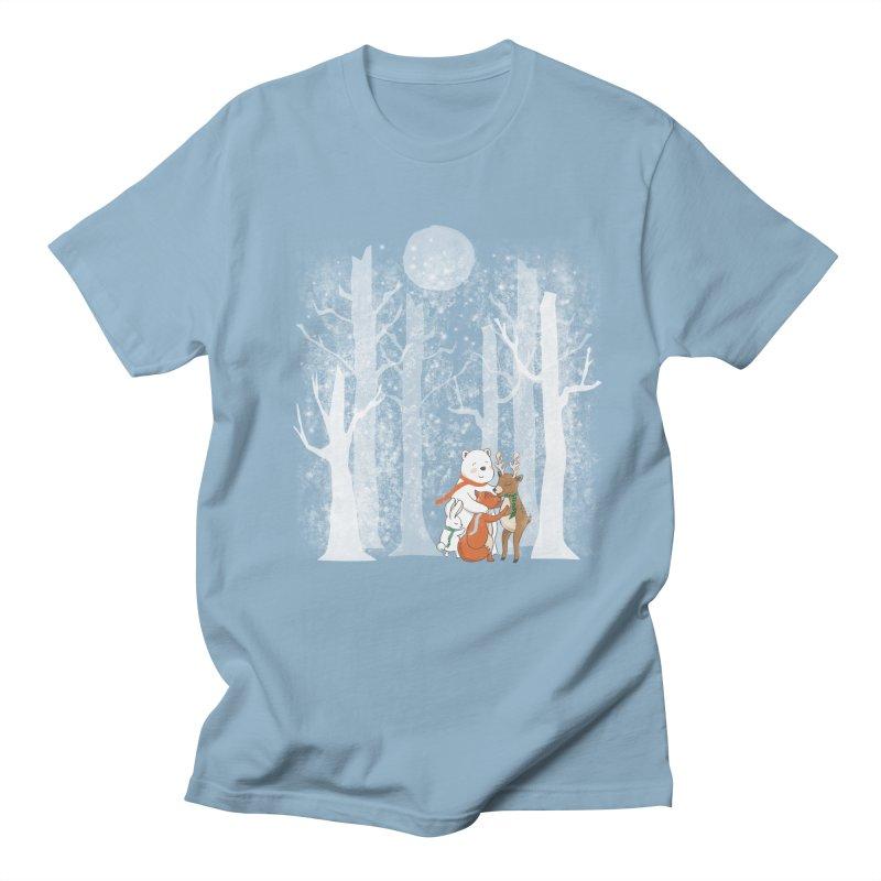 When it's cold outside Women's Regular Unisex T-Shirt by Winterglaze's Artist Shop