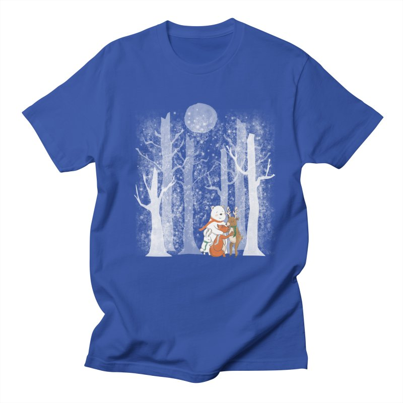 When it's cold outside Men's T-Shirt by Winterglaze's Artist Shop