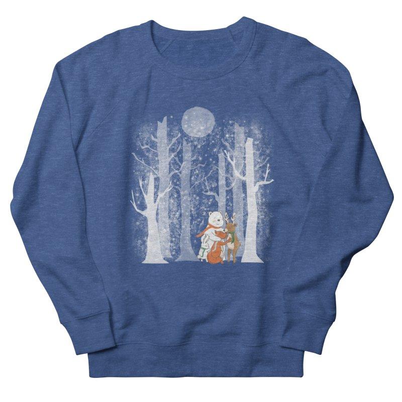 When it's cold outside Women's French Terry Sweatshirt by Winterglaze's Artist Shop