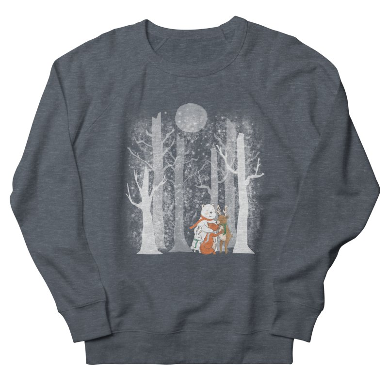 When it's cold outside Women's French Terry Sweatshirt by Winterglaze's Artist Shop