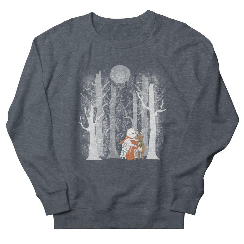 When it's cold outside Men's Sweatshirt by Winterglaze's Artist Shop
