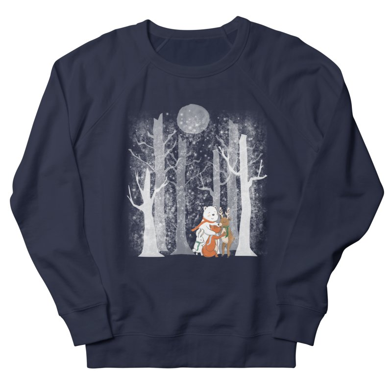 When it's cold outside Men's French Terry Sweatshirt by Winterglaze's Artist Shop