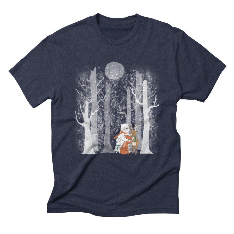 When it's cold outside Men's Triblend T-Shirt by Winterglaze's Artist Shop
