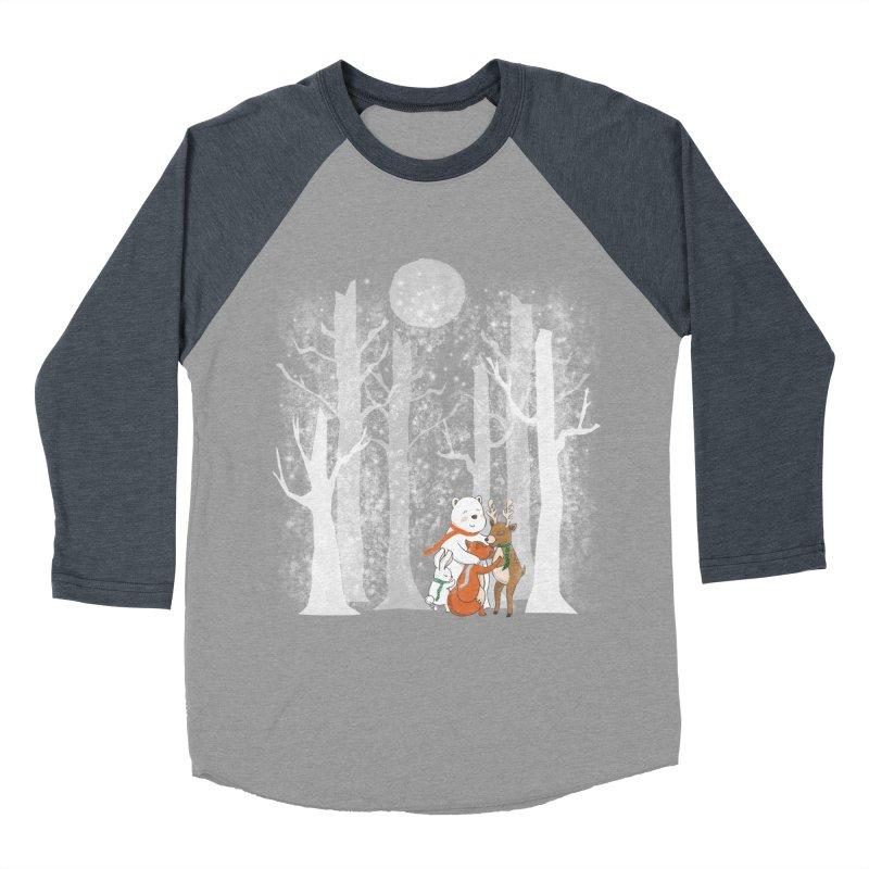When it's cold outside Women's Baseball Triblend T-Shirt by Winterglaze's Artist Shop