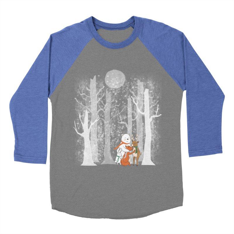 When it's cold outside Men's Baseball Triblend Longsleeve T-Shirt by Winterglaze's Artist Shop