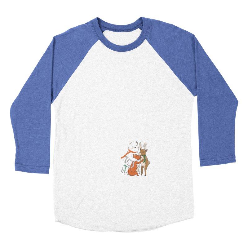 When it's cold outside Men's Baseball Triblend T-Shirt by Winterglaze's Artist Shop