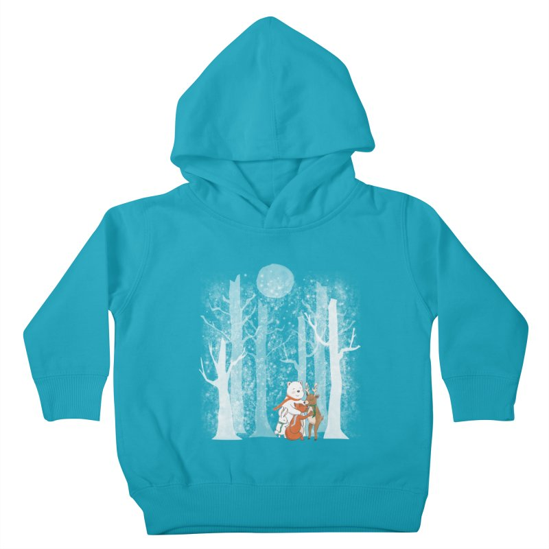 When it's cold outside Kids Toddler Pullover Hoody by Winterglaze's Artist Shop