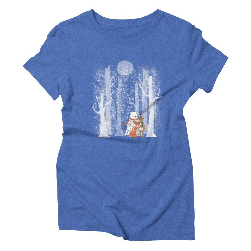 When it's cold outside Women's Triblend T-Shirt by Winterglaze's Artist Shop