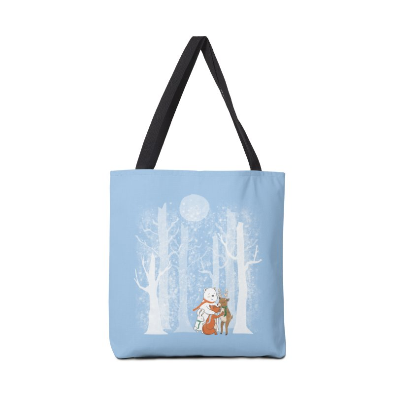 When it's cold outside Accessories Bag by Winterglaze's Artist Shop