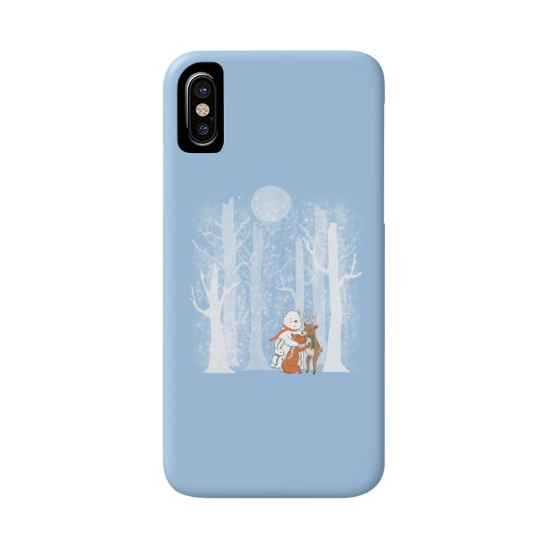 When it's cold outside Accessories Phone Case by Winterglaze's Artist Shop
