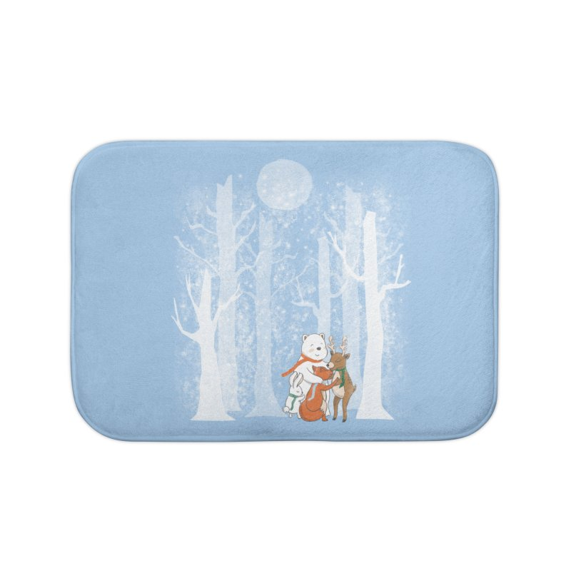 When it's cold outside Home Bath Mat by Winterglaze's Artist Shop