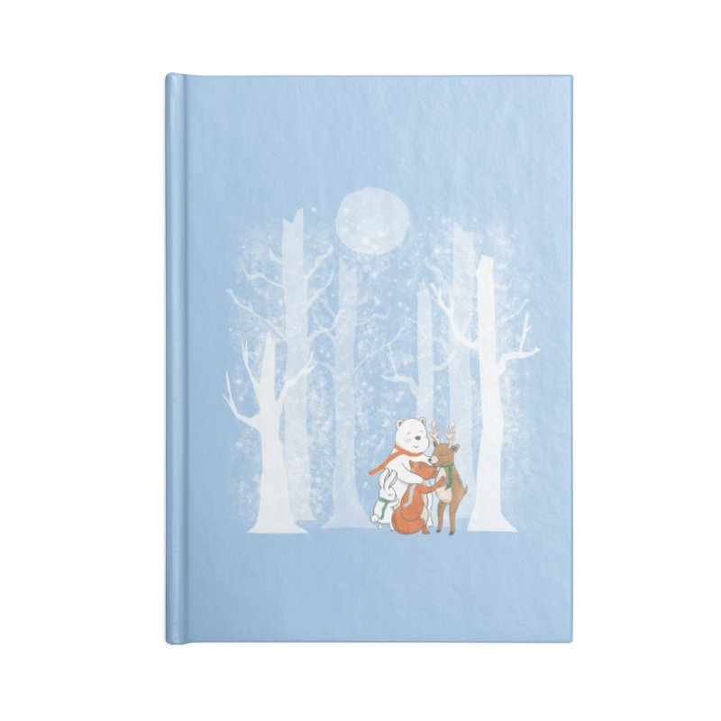 When it's cold outside Accessories Notebook by Winterglaze's Artist Shop