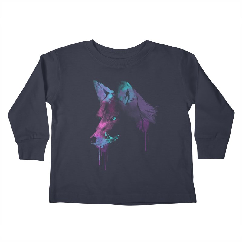 Alpha Kids Toddler Longsleeve T-Shirt by Winterglaze's Artist Shop