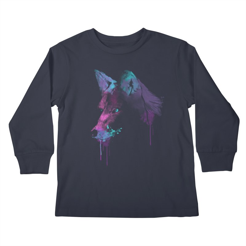 Alpha Kids Longsleeve T-Shirt by Winterglaze's Artist Shop