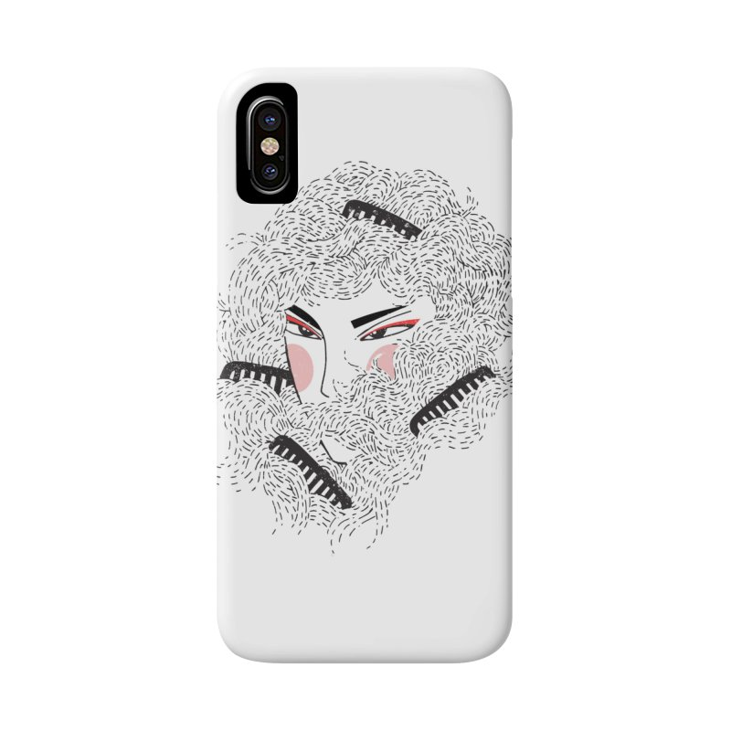 Tangled Accessories Phone Case by Winterglaze's Artist Shop
