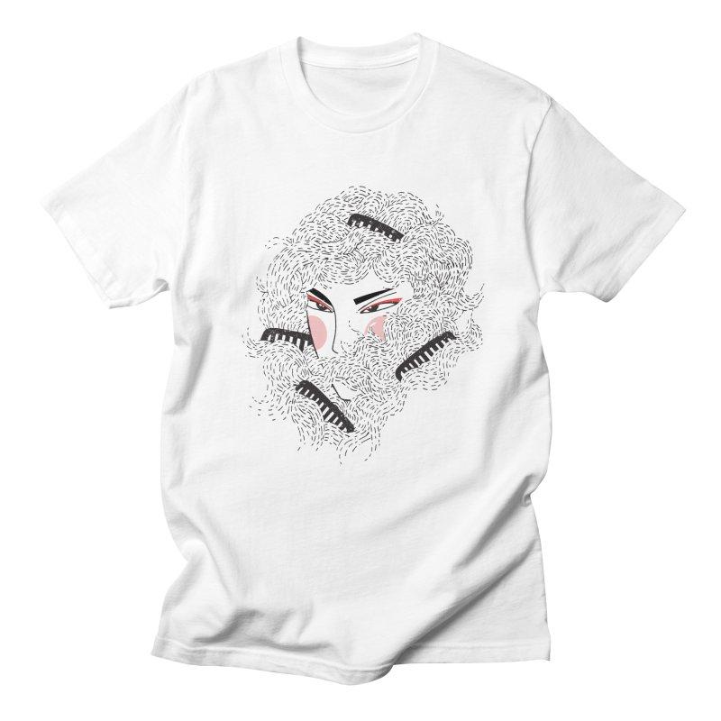 Tangled Men's Regular T-Shirt by Winterglaze's Artist Shop