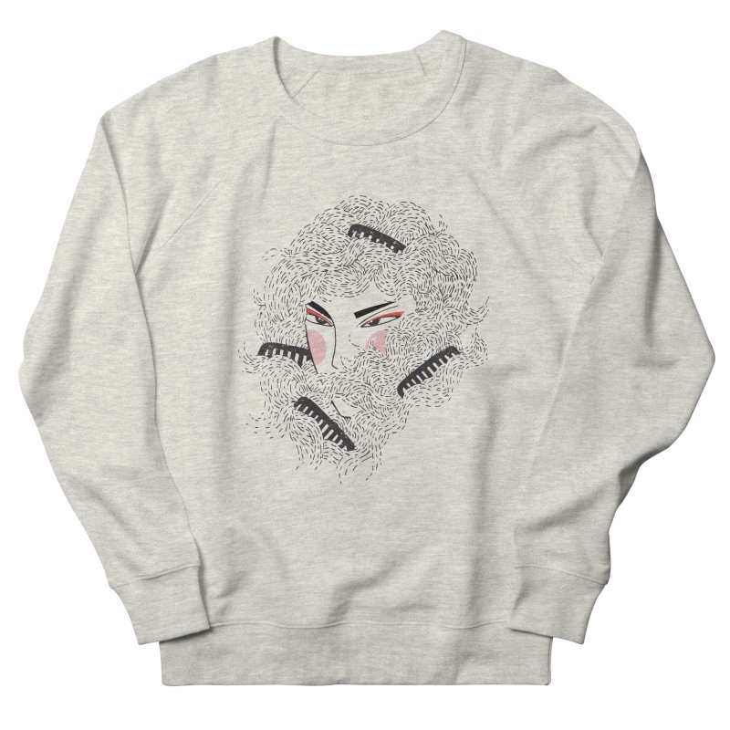 Tangled Women's French Terry Sweatshirt by Winterglaze's Artist Shop