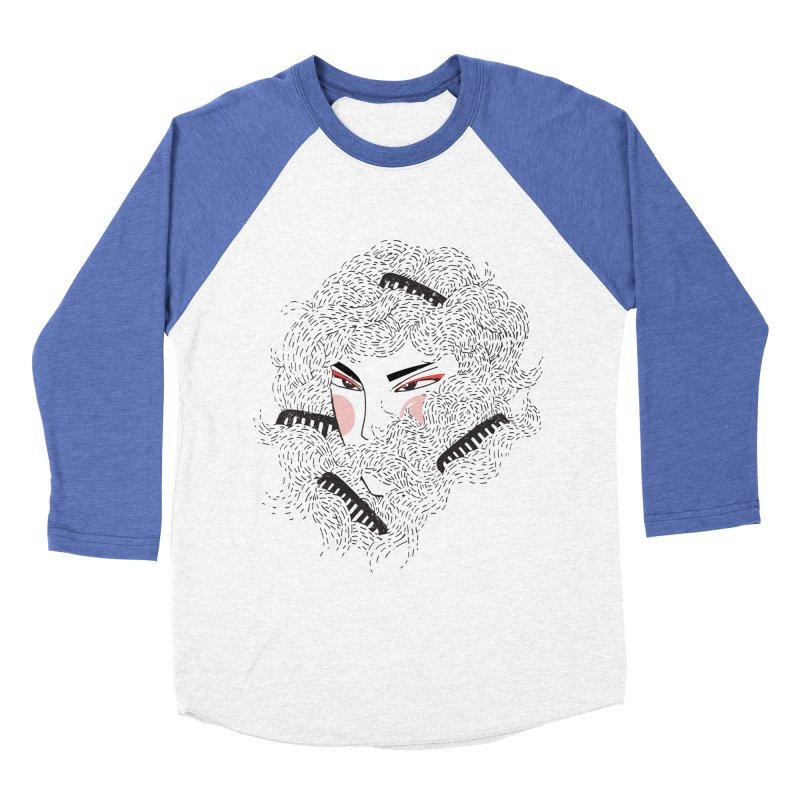 Tangled Men's Baseball Triblend Longsleeve T-Shirt by Winterglaze's Artist Shop