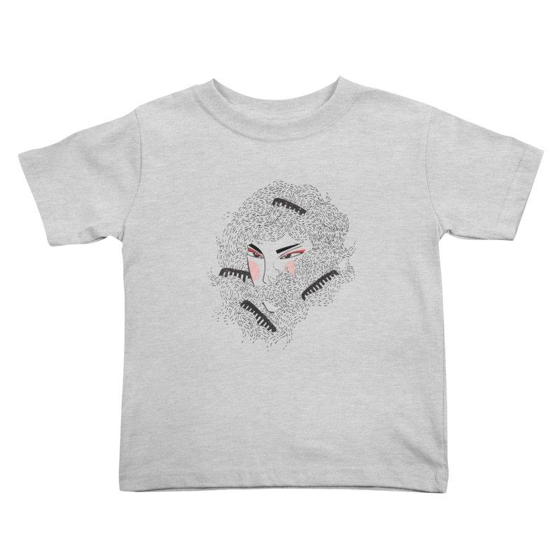 Tangled Kids Toddler T-Shirt by Winterglaze's Artist Shop