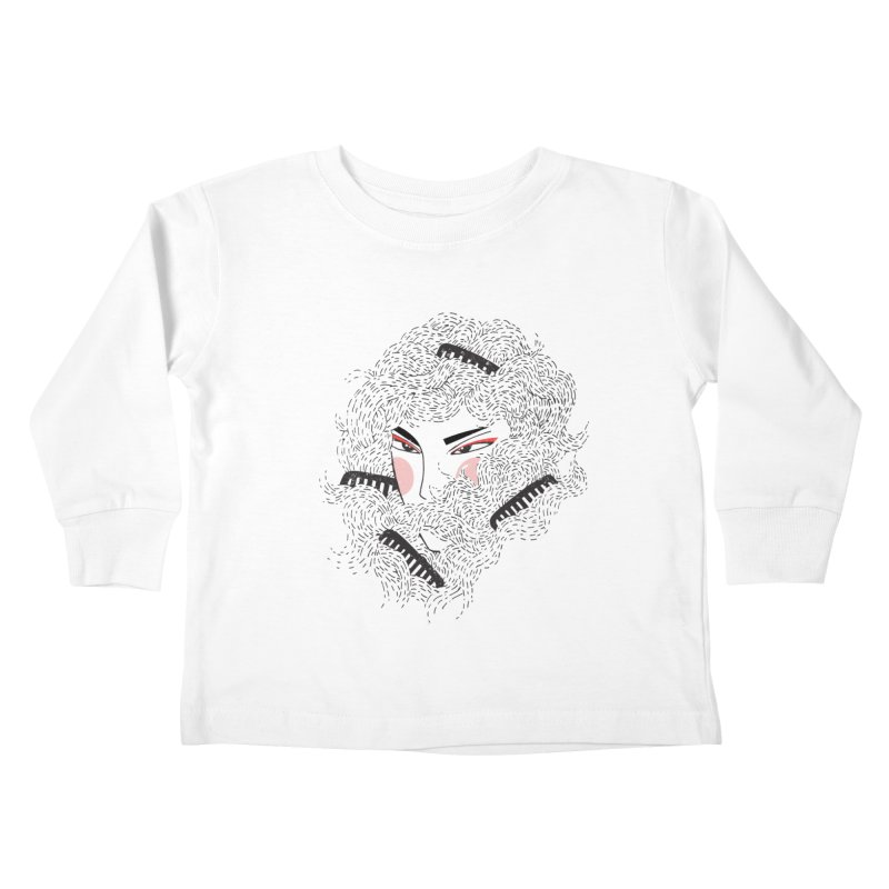 Tangled Kids Toddler Longsleeve T-Shirt by Winterglaze's Artist Shop