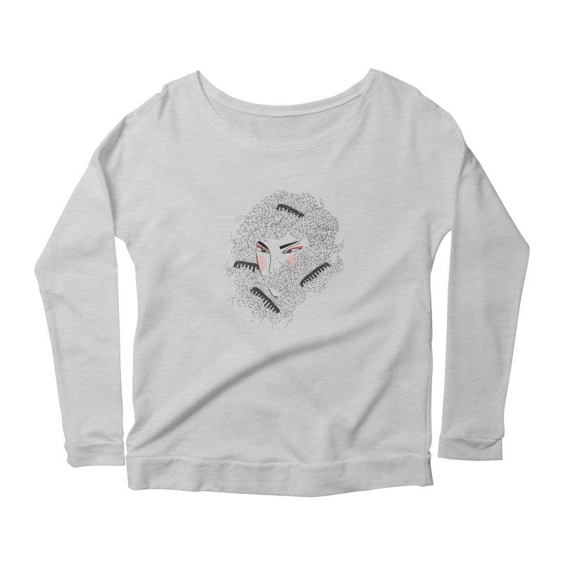 Tangled Women's Scoop Neck Longsleeve T-Shirt by Winterglaze's Artist Shop
