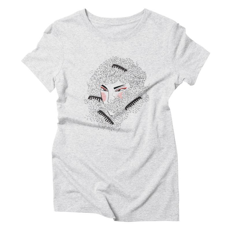 Tangled Women's Triblend T-Shirt by Winterglaze's Artist Shop