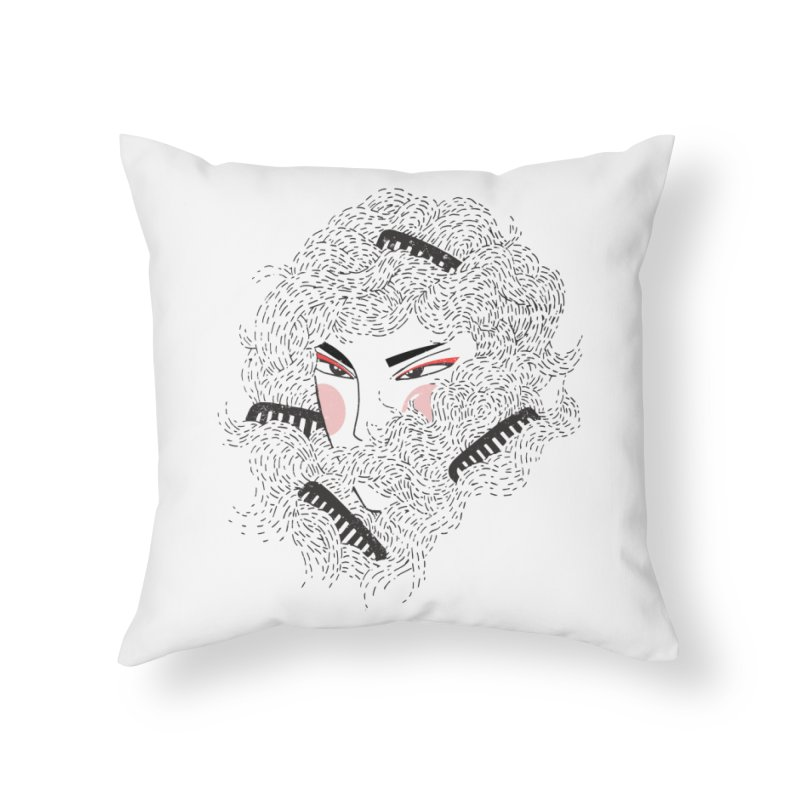 Tangled Home Throw Pillow by Winterglaze's Artist Shop