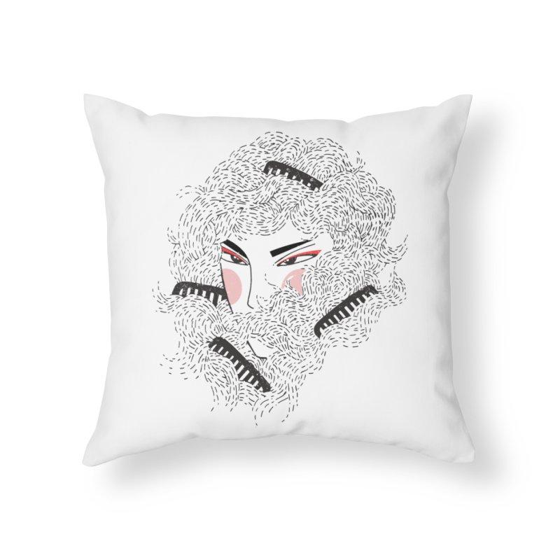 Tangled Home Throw Pillow by Winterglaze's Artist Shop