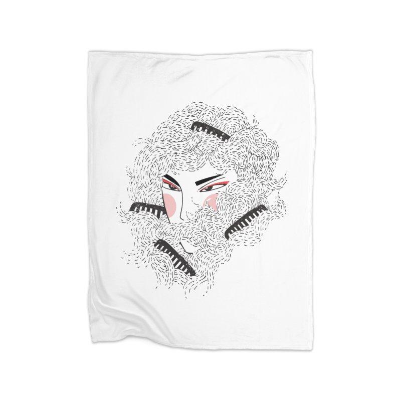 Tangled Home Blanket by Winterglaze's Artist Shop