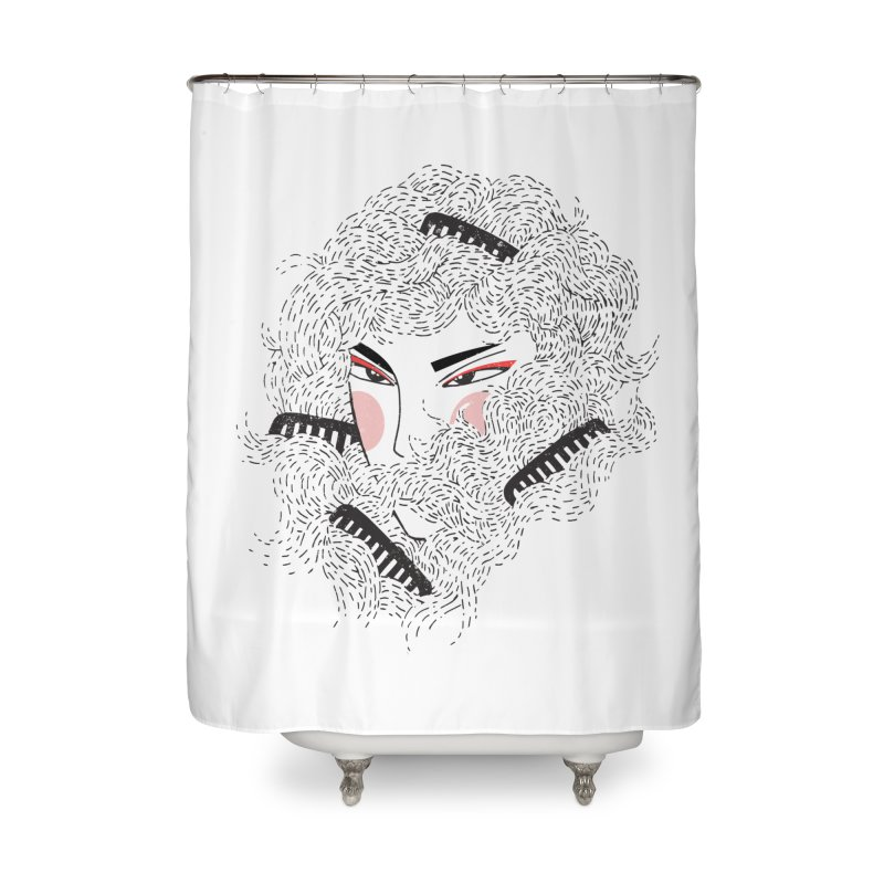 Tangled Home Shower Curtain by Winterglaze's Artist Shop