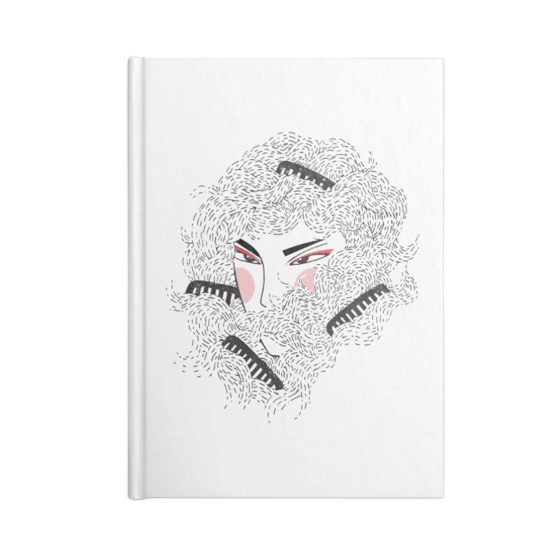 Tangled Accessories Notebook by Winterglaze's Artist Shop