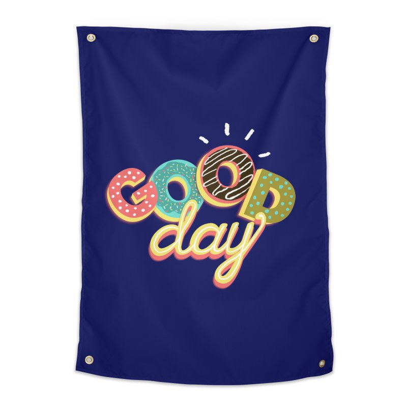 GOOD DAY Home Tapestry by Winterglaze's Artist Shop