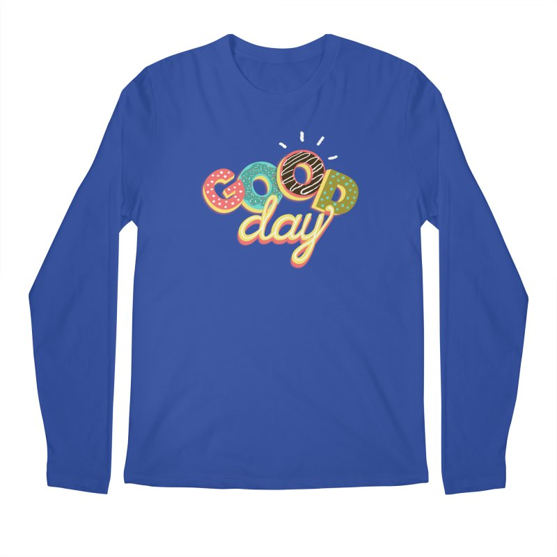 GOOD DAY Men's Longsleeve T-Shirt by Winterglaze's Artist Shop
