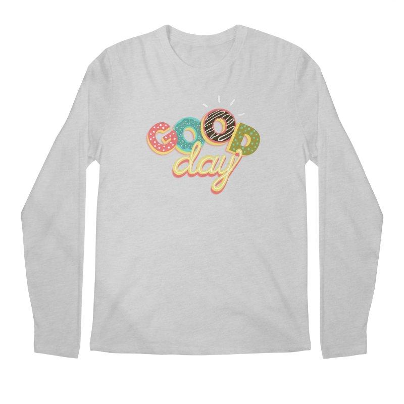 GOOD DAY Men's Regular Longsleeve T-Shirt by Winterglaze's Artist Shop
