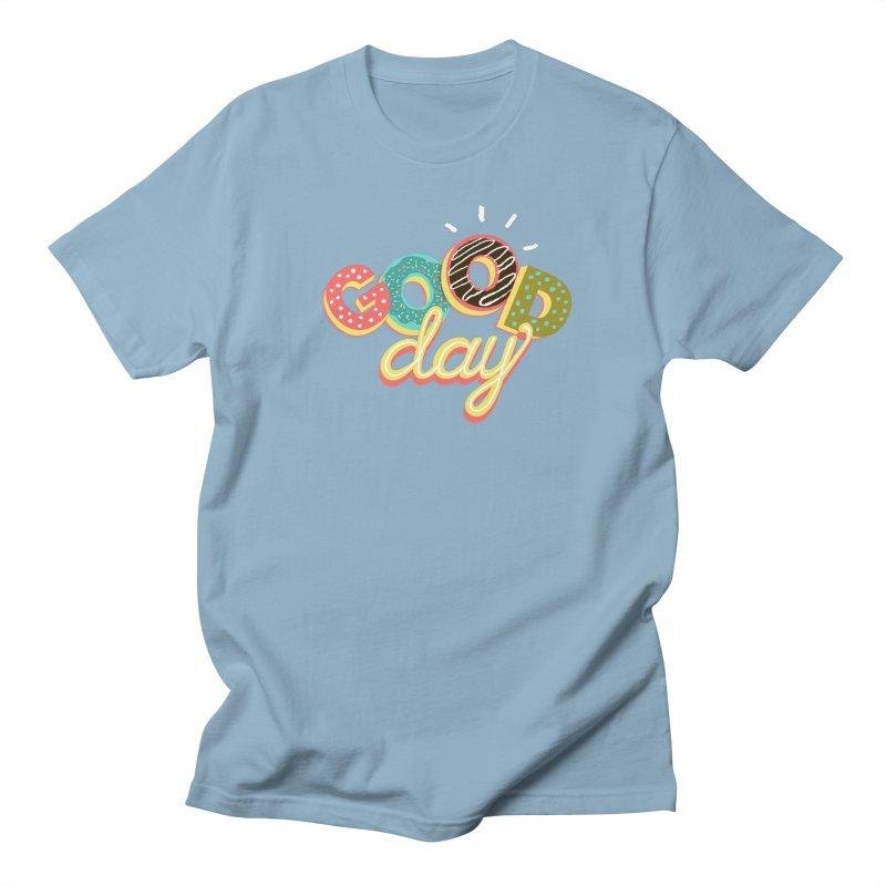 GOOD DAY Men's Regular T-Shirt by Winterglaze's Artist Shop