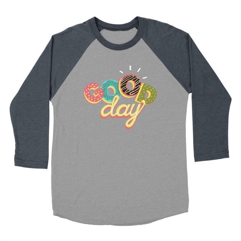 GOOD DAY Women's Baseball Triblend T-Shirt by Winterglaze's Artist Shop