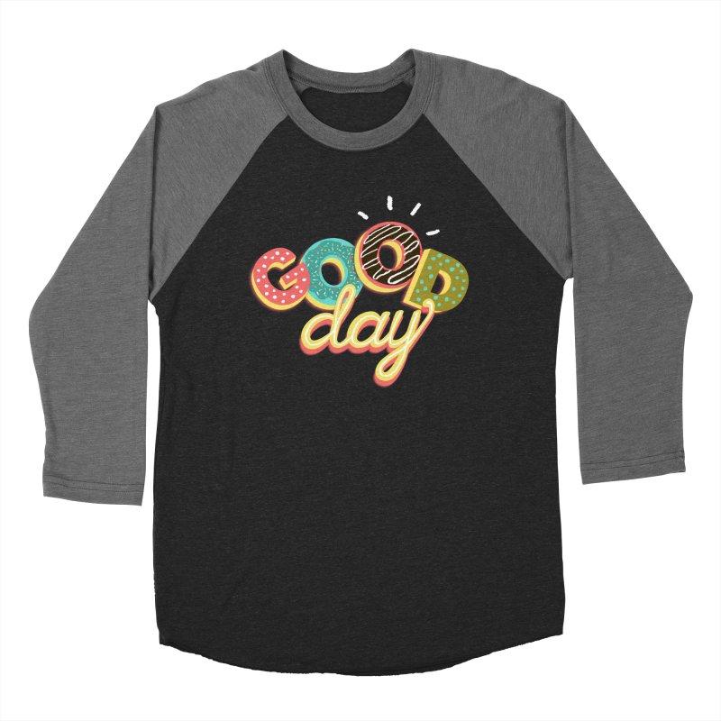 GOOD DAY Men's Baseball Triblend T-Shirt by Winterglaze's Artist Shop